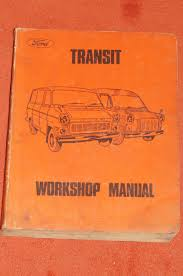 ford transit van factory workshop manual u2022 aud 75 00 picclick au