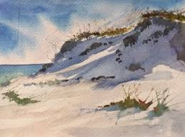 janet kindy painting sunset sunrise or painting sand dunes in