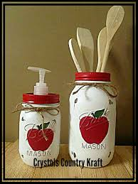 apple canisters for the kitchen apple canisters apple kitchen set utensil jar apple soap