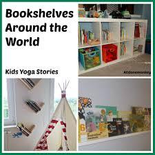 bookshelves around the world stories books