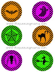 Free Printables For Halloween by Free Printable Halloween Cupcake Toppers The Pinning Mama