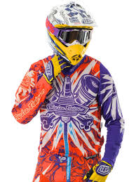 motocross jersey design troy lee designs orange purple 2012 piston se mx jersey troy lee