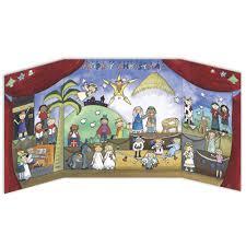 nativity advent calendar children s nativity advent calendar from trading pop out a