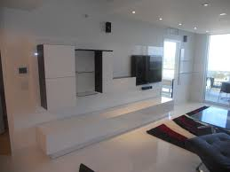 Wall Unit For Bedroom Custom Made Wall Unit Laquered Thermo Foil By Miami Home Design