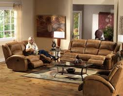 Sofa And Recliner Saddle Faux Leather Dawson Reclining Sofa Loveseat Set