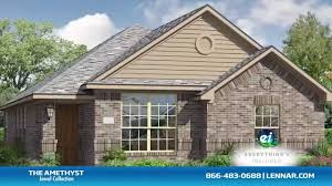 Lennar Homes Floor Plans by The Amethyst Floor Plan Tour Lennar Dallas Youtube
