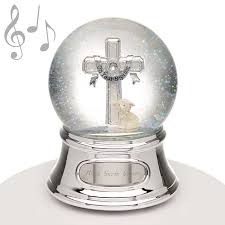baptism engraving 024593 musical water globe baptism cross things engraved