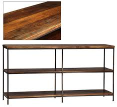 Reclaimed Wood Console Table Madison Reclaimed Wood Console Table
