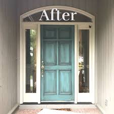 door painted with chalk paint decorative paint by annie sloan