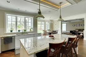 kitchen island view new custom homes globex developments inc