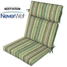 Patio Chair Cushions Clearance by Hazelnut High Back Chair Cushionoutdoor Cushion In Carmody Outdoor