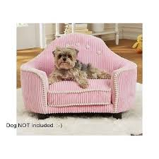luxury dog beds pink corduroy headboard small pet couch fancy
