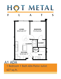 Ada Floor Plans by Metal Flats Walnut Capital