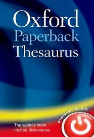 thesaurus confirmation oxford paperback thesaurus by oxford dictionaries waterstones