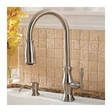 price pfister hanover kitchen faucet faucet com f 529 7tms in stainless steel by pfister