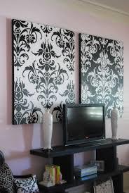 damask home decor wall art design ideas black white damask wall art painting home