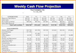 forecast cash flow projection template cash flow projection excel cash flow projection exle cash flow
