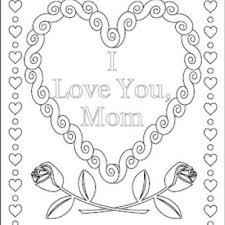love coloring pages love mommy coloring pages love