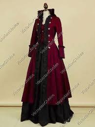 Xxxl Halloween Costume Victorian Military Game Thrones Steampunk Dress Halloween