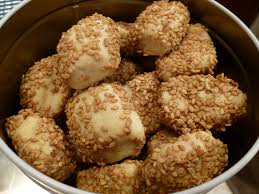 italian orange sesame seed cookies biscotti regina judy u0027s