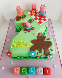 peppa pig cake decorations cake ideas