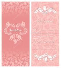 wedding invitation ornament flowers leaf background stock