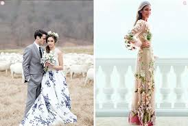floral wedding dresses design inspiration 10 floral wedding gowns exquisite weddings