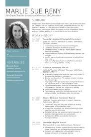 principal resume template principal resume samples visualcv resume