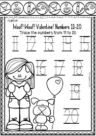 valentine print and ready free literacy and math small packet