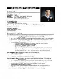 the most incredible formal resume format sample resume format web
