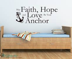 Items Similar To Love Anchors - may faith hope and love be your anchor sticky by thestickerhut