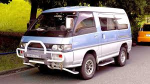 mitsubishi japan 1992 mitsubishi delica star wagon turbo diesel usa import japan