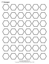 hexagon template epp pinterest hexagons templates and