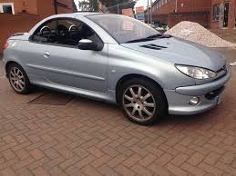 peugeot 206cc allure hdi in top valley nottinghamshire gumtree