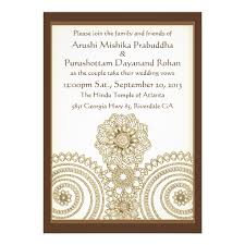 henna invitation personalized henna invitations custominvitations4u
