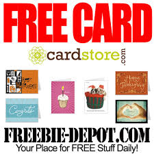 free greeting cards freebie depot