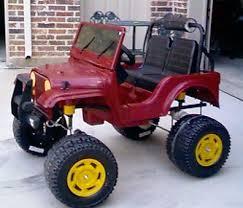 barbie jeep power wheels 90s modified power wheels jeep size