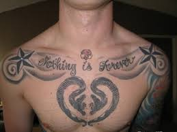 masculine chest tattoos for ideas mag