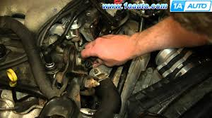 how to install replace engine coolant temperature sensor 3 4l 2000