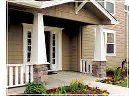 craftsman tapered columns square taper front porch column front