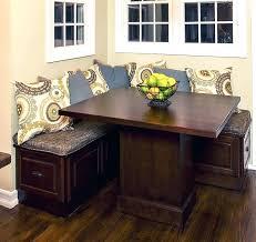 corner bench seat with storage image of kitchen bench seating