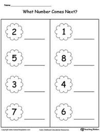 early childhood math worksheets worksheets math and printable