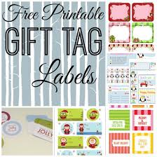 free printable holiday gift tag roundup not quite susie homemaker
