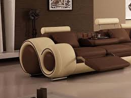 Living Room Brown Leather Sofa Furniture Simple Design Unique Sofa Couch Designs India Leather