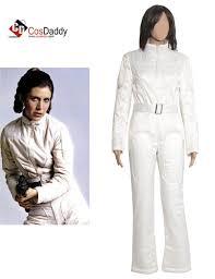 wars jumpsuit wars a princess leia organa white jumpsuit costume