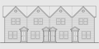 4 plex plans townhome plans 15 ft wide house plans narrow lot
