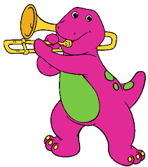 barney friends clip art images cartoon clip art