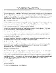 tutorialspoint netbeans java interview questions tutorialspoint