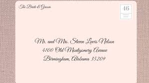 wedding invitations how to address how to address wedding invitations southern living