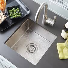 Cantina Brushed Nickel Bar  Prep Sink Native Trails - Square sinks kitchen